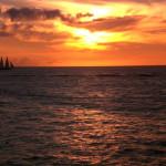 Miami South Beach Sonnenuntergang