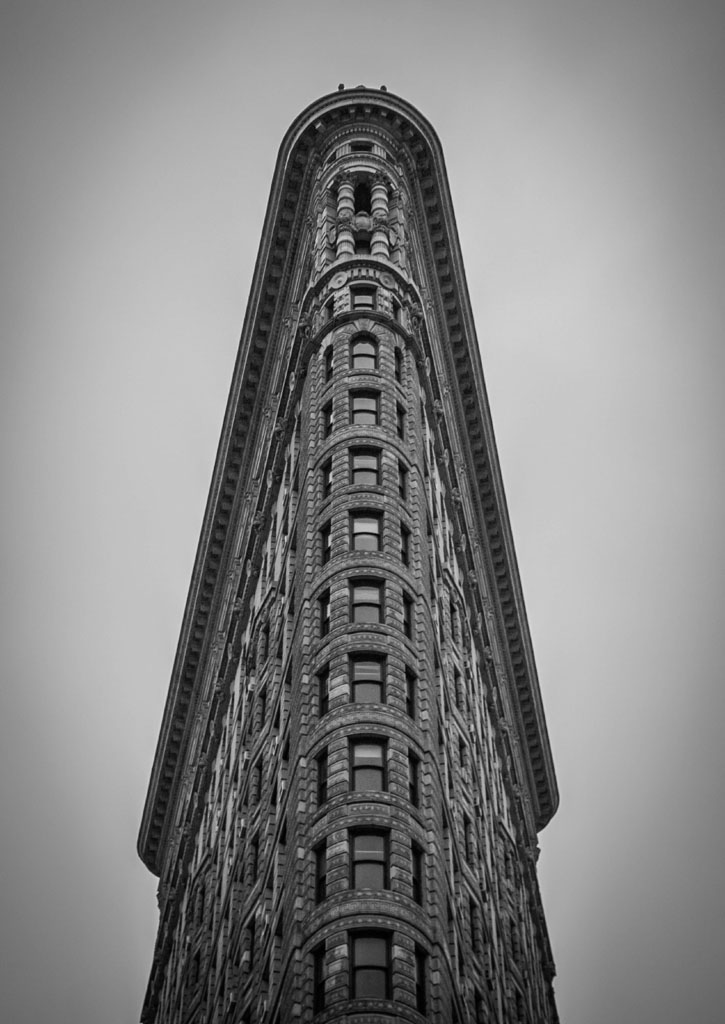 flatiron building am abend in new york